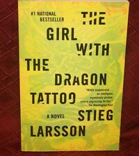 The Girl with the Dragon Tattoo a novel Stieg Larson paperback fiction