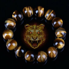 Hot Lucky Bless Beads Bracelet Bangle Tiger Eye Stone Men Women Jewelry Natural