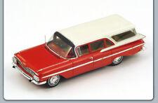 Chevrolet Impala Station Wagon 1959 Red/White 1:43 Spark S2905 Modellino