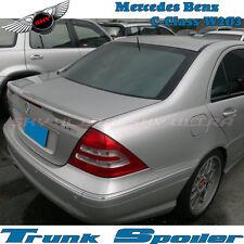 Unpainted C Type Trunk Spoiler For MERCEDES BENZ C-Class W203 C230 C240 2001-07