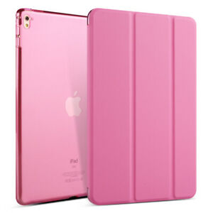 Leather Plus Silicone Smart Case Stand Flip Slim Cover For Apple iPad Air1 Air 2