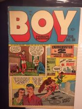 Boy Comics #38 FN- Feb.1948    Suicide Cover Charles Biro