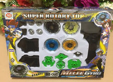 1 Set Beyblade Beyblades Launcher Fight Rapidity Masters Power Grip Battle Game