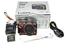 Panasonic LUMIX DMC-GF3 12.1MP Digital Camera (Body Only) Brown, Rarely Used