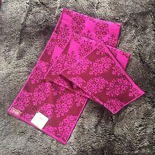 NWT Oleana Women's Merino Silk Floral Scarf