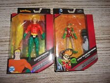 Dc Robin & Super Friends Aquaman (Lot Of 2 Figures) Sealed