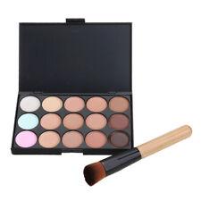 15 Colors Contour Concealer Face Cream Makeup Palette Professional + Brush
