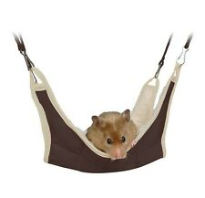 62691 Trixie Hamster Hanging Hammock Cage Bed Green Or Brown 18 x 18 cm