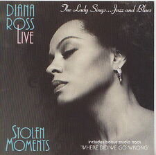 DIANA ROSS  CD STOLEN MOMENTS  LADY SINGS ...JAZZ AND BLUES