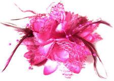Accessoires de coiffure barrettes et épingles à cheveux rose pour femme