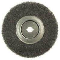 Weiler 804-01250-12 10 in. x 0.014 in. Narrow Face Crimped Wire Wheels