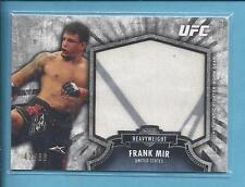 *2012 Topps UFC Bloodlines Jumbo Fighter Relic FRANK MIR  no.FJR-FM