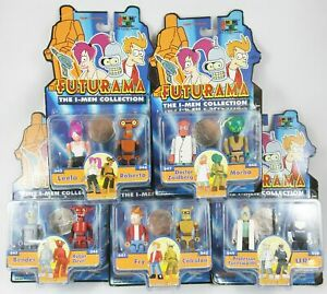 Futurama - Toynami - The I-Men Collection set complet de 10 figurines