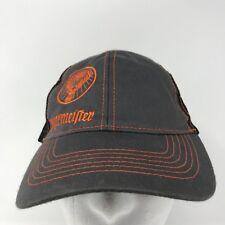 318852305cf1e Jagermeister Stag Black Orange Gray Mesh Trucker Snapback Adjustable Hat