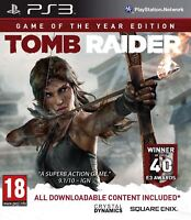 Tomb Raider Game of the Year Edition PS3 New and Sealed