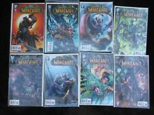 World of Warcraft Comic Book Lot 8 Issues 1-8 Wildstorm WoW Bagged Boarded