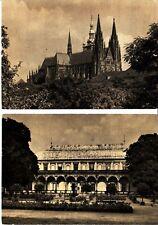 19 Ansichtskarten Prager Burg, unbeschrieben