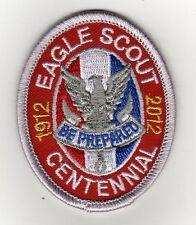 Eagle Scout Centennial Rank Patch, Type 12, BSA 2010 Backing (2012), Mint!