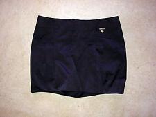 Elisabetta Franchi Celyn b mini skirt 40 (w29) gold plating