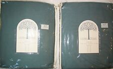 JCP JCPenney Linden Street LAKE MIST Tab-Top Window Panel Pair LOT of 2 82 x 63