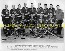 1963-64 CLINTON COMETS 8X10 PHOTO
