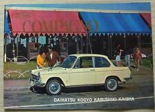 DAIHATSU COMPAGNO Car Sales Brochure c1966 BERLINA Station Wagon