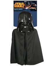 Darth Vader Star Wars Disney Movie Child Boys Costume Mask Cape Fit Most