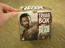 Walking Dead Trivia Box - 3 packs of trivia cards (all 3 unopened)
