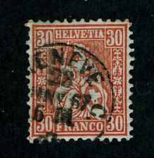 Switzerland, Scott #46, Used, 1862