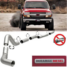 "01-07 GMC Chevy Duramax 6.6L Diesel 5"" Magnaflow Downpipe Back Exhaust 18982"