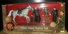 "NEW Robin Hood 5"" Battle Set With Detailed Accessories Action Figure Vivid"