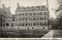 Hanover NH Dartmouth College North MA Hall Postcard used 1913