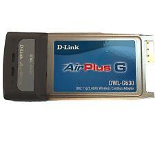 D-Link AirPlus G DWL-G630 Wireless CardBus Adapter