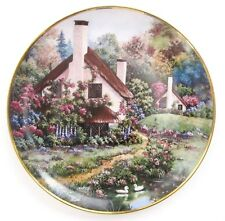 "Violet Schwenig ""A Cozy Glen"" 1st Issue Ltd. Ed. Franklin Mint Collector Plate"