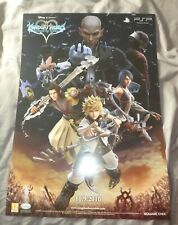 Square PSP Sony Kingdom hearts Birth by Sleep display Promo poster A2 size shop