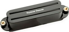 Seymour Duncan SCR-1n Cool Rails Dual Coil Humbucker Strat Neck Pickup, Black