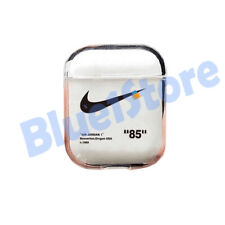 New Off-White AirPods Case nike supreme bred jordan adidas hype fieg clear USA