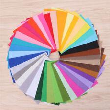 40pcs Mixed Color Nonwoven Felt Fabric Sheets DIY Craft Patchwork Sheet 10x15cm