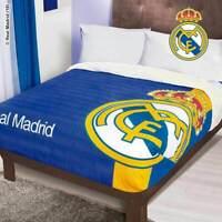 Real Madrid Sherpa Anti-Static Fleece Blanket by Intima Hogar