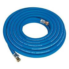 "Sealey Air Compressor Line/Hose 10mtr x 10mm 1/4""BSP Heavy-Duty - AH10R/38"