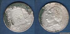 Louis XVIII 1815 - 1824 , 5 Francs Buste nu 1821 A Paris (1) TB -