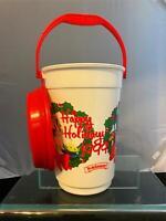 Vintage 1999 Walt Disney World Popcorn Bucket W/ Lid Toy Story Characters Pixar