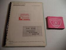 Tektronix Type 528 Television Waveform Monitor Instruction Manual (070-0800-00)