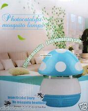 UV LED Lamp Light Catalysis Mosquito Repellent Catcher Trap Killer-Blue