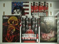 Image Department Of Truth #2 Main + Variant + 1:10 + 1:25 + 1:50 Tynion  NM