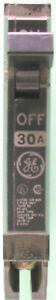 GE Type THQP Circuit Breakers 30 Amp #7he