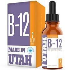 Suplemento Complejo Vitamina B12 En Gotas Energizante Acelerador Del Metabolismo