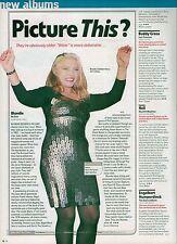 "BLONDIE Debbie Harry razor blade dress  magazine PHOTO / Pin Up / Poster 11x8"""