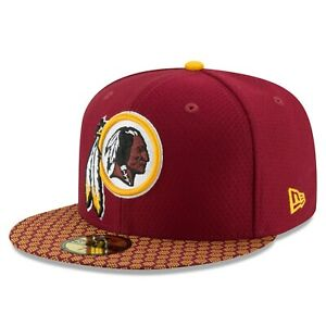 Washington Redskins New Era 2017 Sideline Official 59FIFTY Fitted Hat - Burgundy