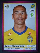 PANINI 435 Daniel Majstorovic Svezia euro 2012 Poland-Ucraina